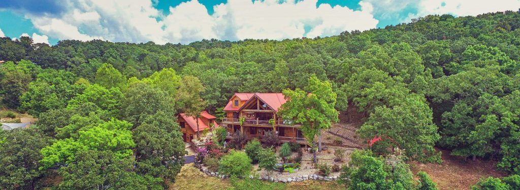 Log Home Lakeview Property for Sale on Table Rock Lake